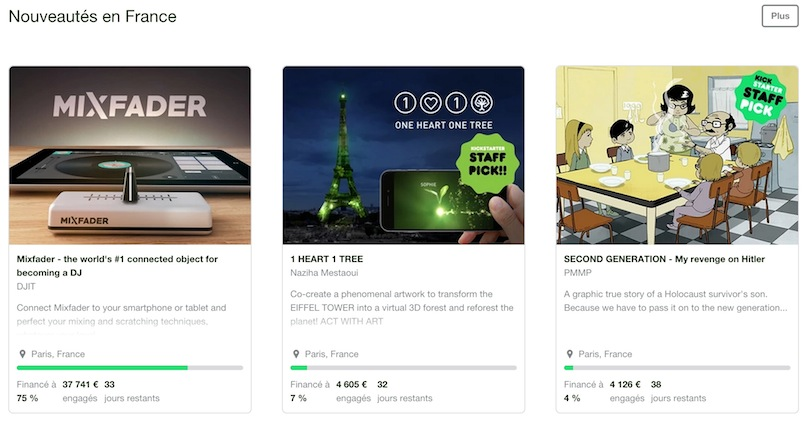 Kickstarter, plateforme crowdfunding