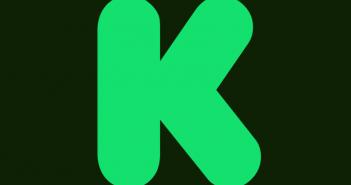 Logo kickstarter, plateforme de crowdfunding