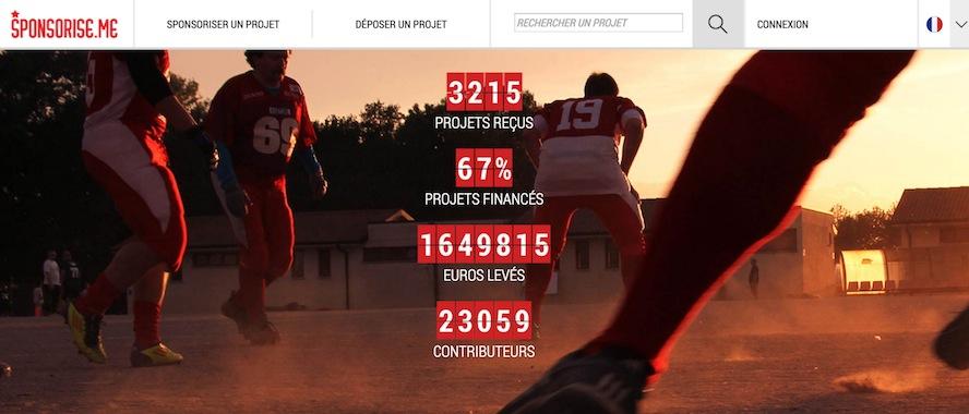 Sponsorise.me, plateforme de crowdfunding sportif