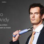 [PARTENARIAT] Andy Murray renvoie la balle dans le camp du crowdfunding
