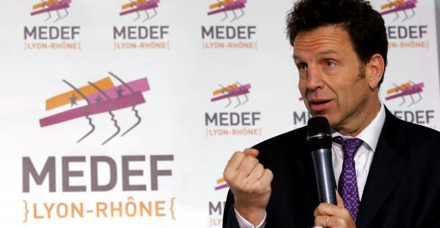 Geoffroy Roux de Bézieux, président crowdfunding