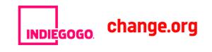 Indiegogo & change.org, partenariat crowdfunding