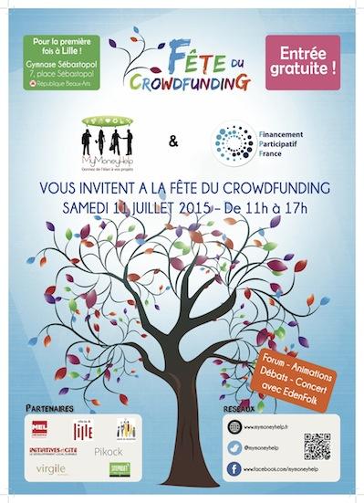 La Fête Du Crowdfunding à Lille
