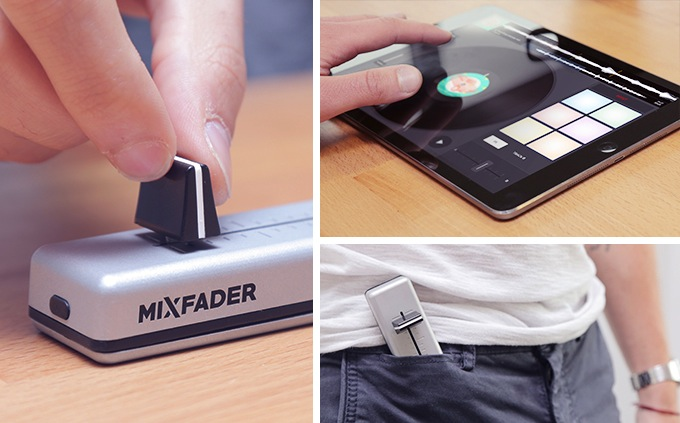 Mixfader, technologie crowdfunding