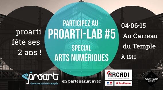 ProartiLab, événement crowdfunding