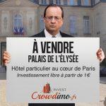 [INSOLITE] Crowdimo Invest met en vente le Palais de l'Élysée !