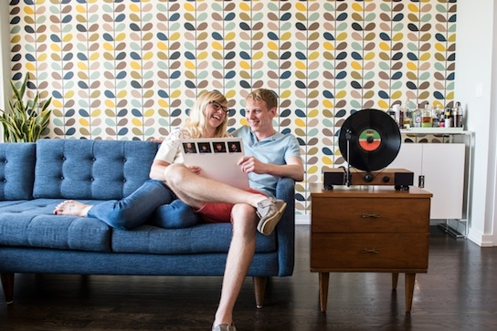 Floating Record, technologie crowdfunding