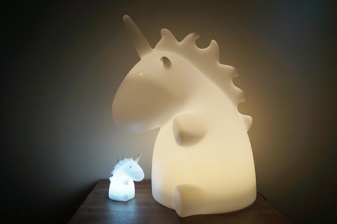 Giant Unicorn Lamp, projet crowdfunding