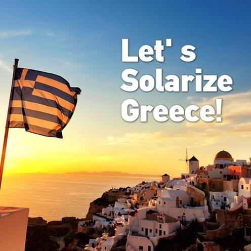 Greenpeace et Grèce, campagne de crowdfunding