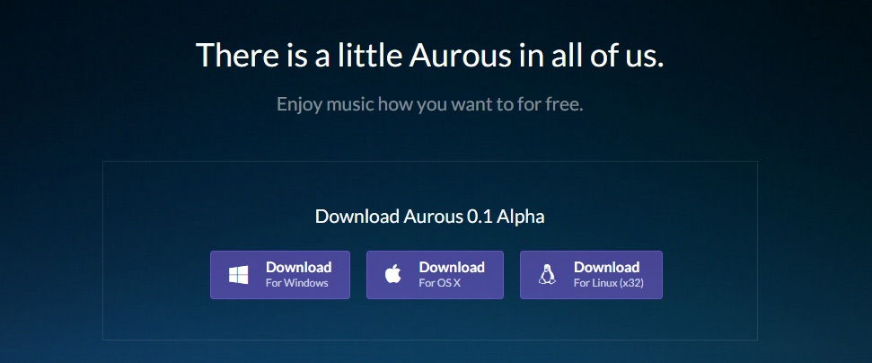 Aurous screenshot