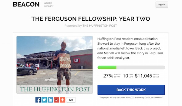 Capture ecran Ferguson Fellowship