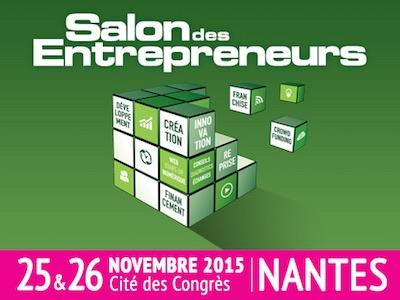 V nement le salon des entrepreneurs de nantes les 25 et for Salon des entrepreneurs nantes