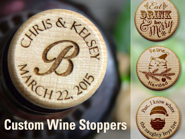 Custom-wine-stoppers