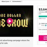 [INSOLITE] Obtenir une récompense en festival avec le crowdfunding