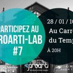 [ÉVÉNEMENT] Le ProArti-Lab revient le 28 janvier