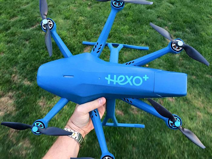 Hexo+, le drone