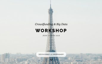 Workshop big data et crowdfunding