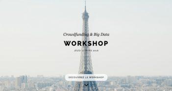 Workshop big data et crowdfunding