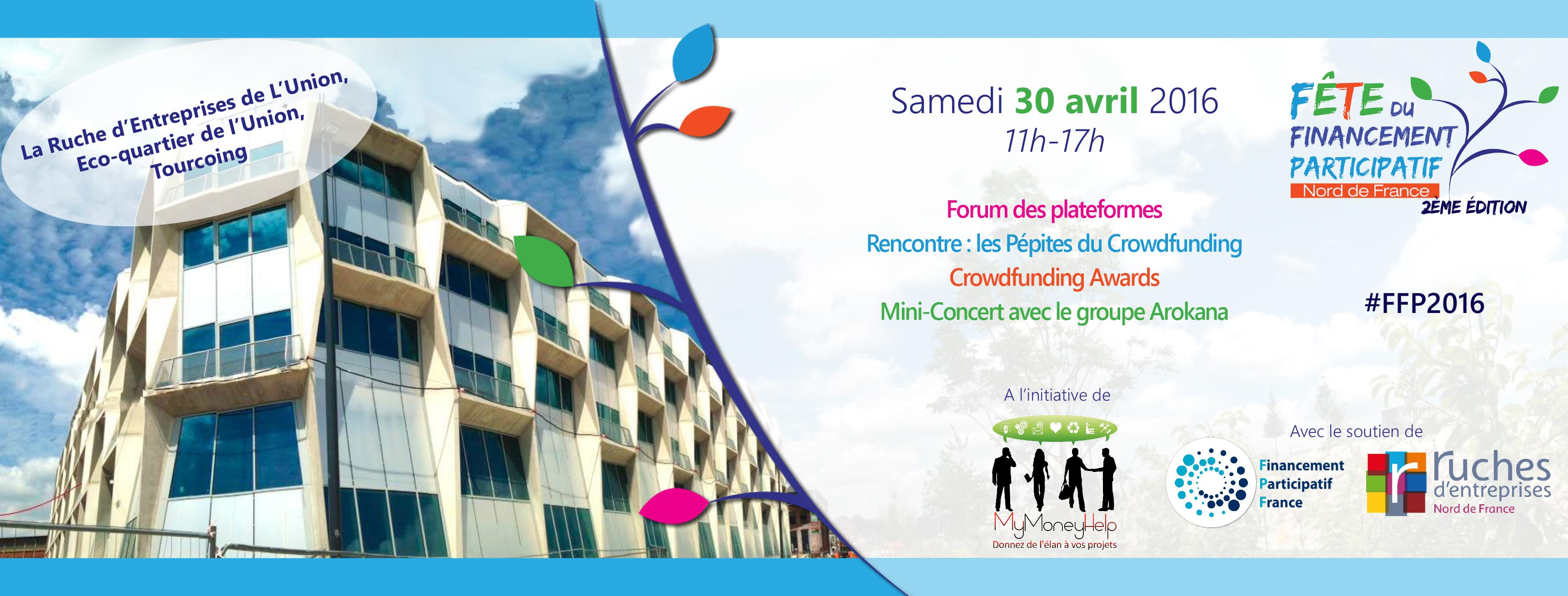 Fête du financement participatif Nord de France