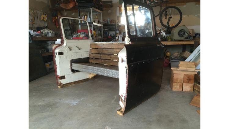 Custom furniture reclaiming