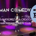 PDJ 12 mai : Human Comedy Club, rire pour le sourire d'un enfant
