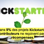[CHIFFRES] Que révèle une étude sur Kickstarter ?