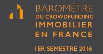 Barometre Crowdfunding Immobilier 1er semestre fundimmo