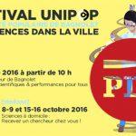 PDJ 14 Septembre : Festival Unipop, les sciences dans la ville