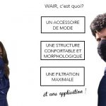 PDJ 27 octobre : WAIR, le premier foulard anti-pollution