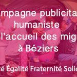 Une campagne de crowdfunding contre l'affichage anti-migrants