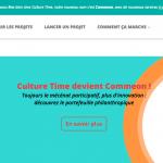 Culture time, la plateforme de mécénat devient Commeon et lance de nouveaux services