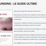 Crowdfunding, le guide ultime, un livre pour tout savoir et réussir sa campagne