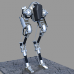 PDJ 12 juin : Walk-e – Le robot bipède