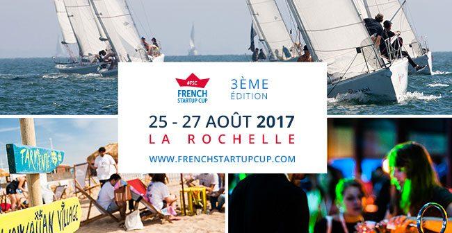 L'évènement de ce mois d'août la French Startup Cup